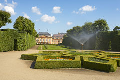 Dobris chateau Stock Images