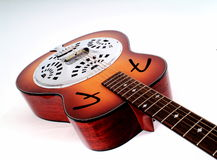 The Dobro. A guitar stock images