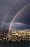 Dobro do arco-íris Imagens de Stock