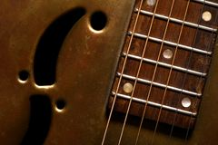 Dobro Guitar Royalty Free Stock Photos