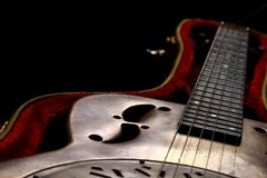 Dobro Guitar in case Royalty Free Stock Photos