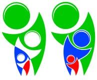 Dobroczynność logo Zdjęcie Royalty Free