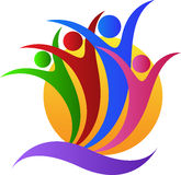 Dobroczynność logo royalty ilustracja