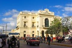 Dobroczynność teatr w Parque Vidal centrum miasto S Obraz Stock