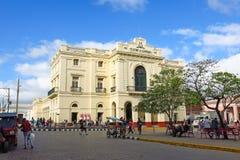 Dobroczynność teatr w Parque Vidal centrum miasto S Zdjęcia Royalty Free