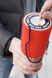 dobroczynność target370_0_ pieniądze Fotografia Royalty Free