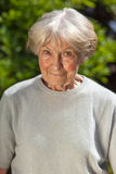Dobroduszna starsza dama obrazy royalty free