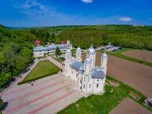 Dobrogea, Costanza, Romania, MAI 2017: San Andrew Monastery dentro immagini stock