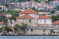 Dobrota en Montenegro foto de archivo