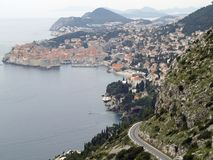 Dubrovnik cityscape Stock Images