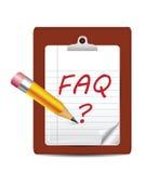 Dobrowolnie pytać pytań ikona Obraz Royalty Free