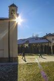 Dobrun修道院,波黑 图库摄影