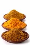 dobry currych tumeric stawkę w proszku Obrazy Stock