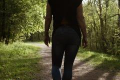 Dobry dzie? dla spacer?w i rado?? ?wie?o?? natura i powietrze obrazy royalty free