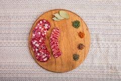 Dobry jedzenie kłaść out na stole Fotografia Royalty Free