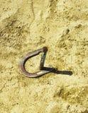 dobry koński szczęścia buta symbol Zdjęcia Stock