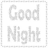 dobry night-04 royalty ilustracja