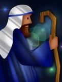 dobry pasterz royalty ilustracja