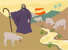 dobry pasterz ilustracji
