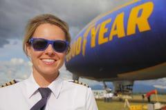 Dobry roku pilot w Kanada fotografia stock