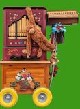 dobry stary uliczny organ zdjęcie royalty free
