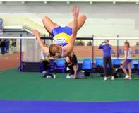 Dobrynska Natallia - Olympic Champion in Beijing Stock Image