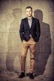 dobrze ubrany mężczyzna Fotografia Stock