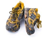 Dobrzy starzy Działający buty Obrazy Stock