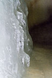 Dobsinska Ice Cave royalty free stock photography