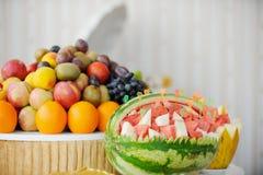 Docê de fruta imagens de stock