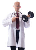 Doc exercise Stock Photo