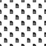 DOC file pattern, simple style Royalty Free Stock Photos