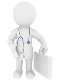 Doc. High Class rendered figure for perfect message transportation Royalty Free Stock Image