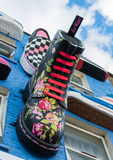 Doc.-Marder und Vans in London stockbild