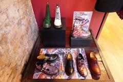 A Doc Martens Dr. Martens shoe store Stock Images