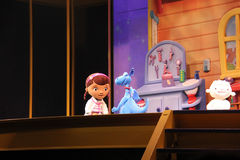 Doc McStuffins Show. In Disneyland California Adventure royalty free stock photos