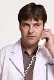 Doc no atendimento Imagens de Stock