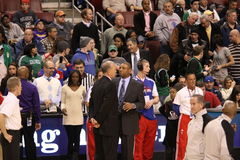Doc Rivers & Doug Collins Royalty Free Stock Photos