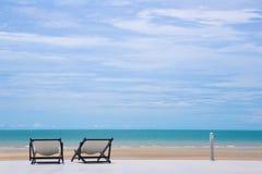 Doca da paisagem do mar Imagem de Stock Royalty Free