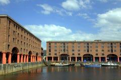 A doca de Albert em Liverpool Foto de Stock Royalty Free
