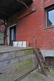 Doca de carregamento velha da cidade Foto de Stock Royalty Free
