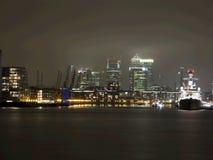 Doca de Londres Fotografia de Stock