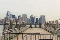 Doca de New York City fotografia de stock royalty free