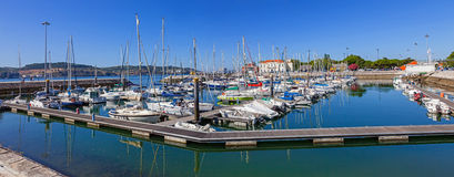 Doca do Bom Sucesso Marina in the Belem Royalty Free Stock Photos