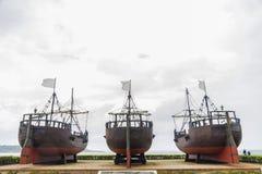 Doca dos caravels em Santander imagens de stock royalty free
