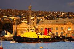 Doca famosa enorme em Plymouth, Reino Unido fotos de stock royalty free