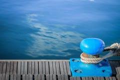 Doca marinha para iate e barcos fotografia de stock
