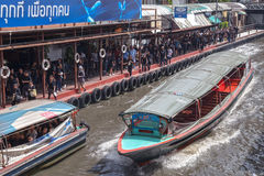 Doca pública do barco Fotografia de Stock