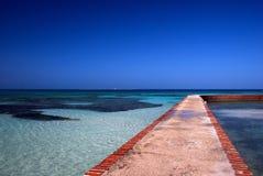Doca, Tortugas seco, Florida Foto de Stock