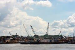 Docas de Iquitos fotos de stock royalty free